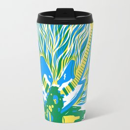 Guitar Explosion Travel Mug