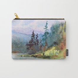Nature: Cool Shores of Freedom Carry-All Pouch