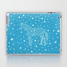 I Spot a Blue Unicorn Laptop & iPad Skin
