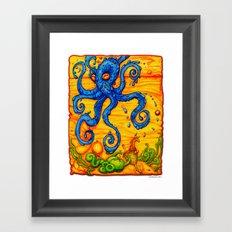 Waterpus Framed Art Print