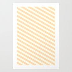 Peaches and Cream Art Print