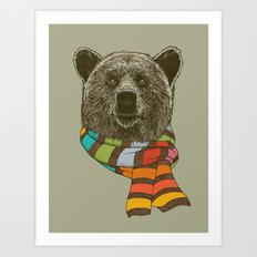 Winter Bear Art Print