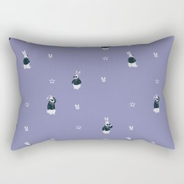 Tough Bunny pattern Rectangular Pillow