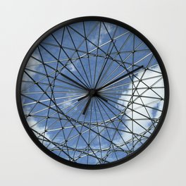 Caged Sky Wall Clock