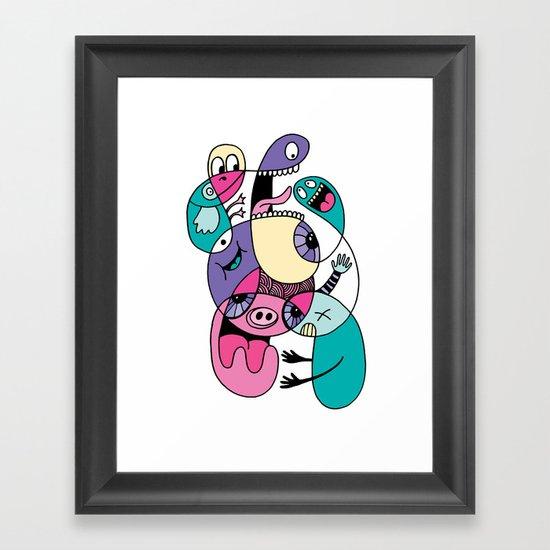 Piggly Wiggly Framed Art Print