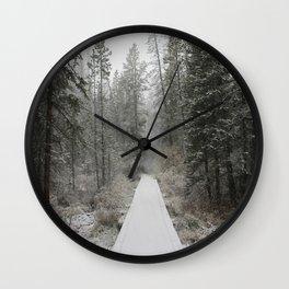 Silverthorne, CO Wall Clock