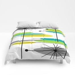 Mid-Century Modern Atomic Design Comforters