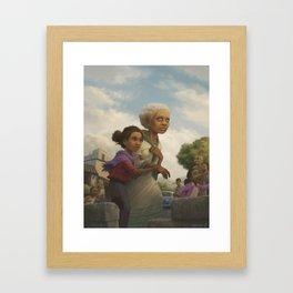Where you go, I will go. Framed Art Print