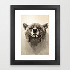 Grizzly Bear Framed Art Print