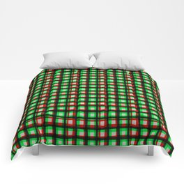 Upbeat SK8ter Chess Pattern V.04 Comforters