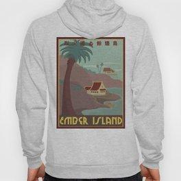 Ember Island Travel Poster Hoody