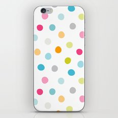 Chickweed Mid Dots iPhone & iPod Skin