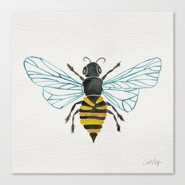Honey Bee Leinwanddruck
