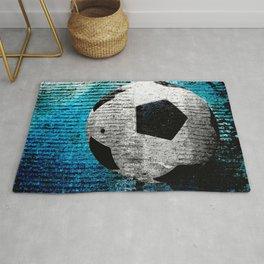 Soccer print variant 2 Rug
