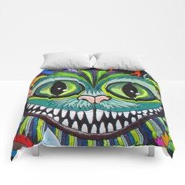 Cheshire puss Comforters