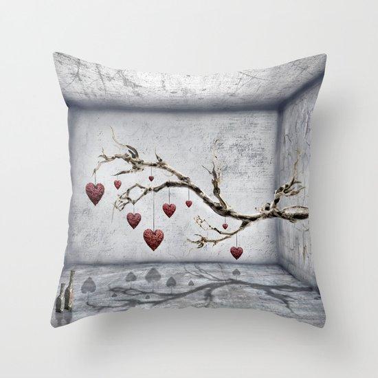 Der alte Liebesbaum  Throw Pillow