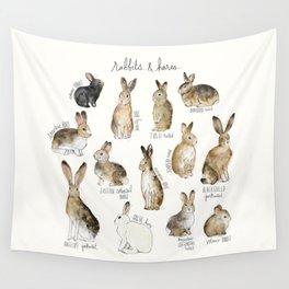 Rabbits & Hares Wall Tapestry