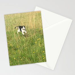 Happiness is running wild and free, and not letting your feet touch the ground! Stationery Cards