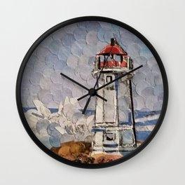 """ Lighthouse "" Wall Clock"
