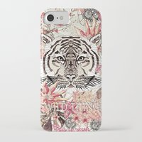 tiger iPhone & iPod Cases featuring TIGER by Monika Strigel®