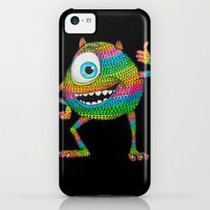 Mike Wazowski fan art by Luna Portnoi Slim Case iPhone 5c