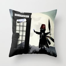Who Kid Throw Pillow
