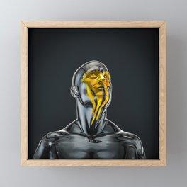 Love is the Only Gold Framed Mini Art Print