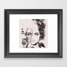 Posy Framed Art Print