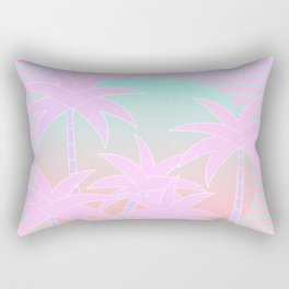 Hello Miami Sunrise Rectangular Pillow