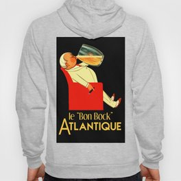 Retro French beer ad Le Bon Bock Hoody