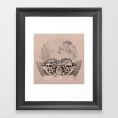the beauty Framed Art Print