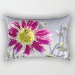 Delicious Dahlia Rectangular Pillow