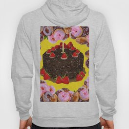 PINK FROSTED DONUTS BIRTHDAY PARTY Hoody