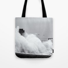 Up an Over Tote Bag