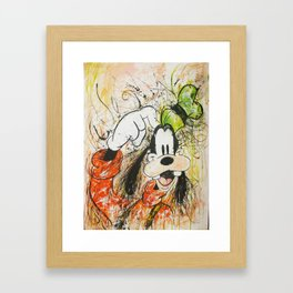 Goofy Framed Art Print