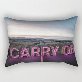 carry on. Rectangular Pillow