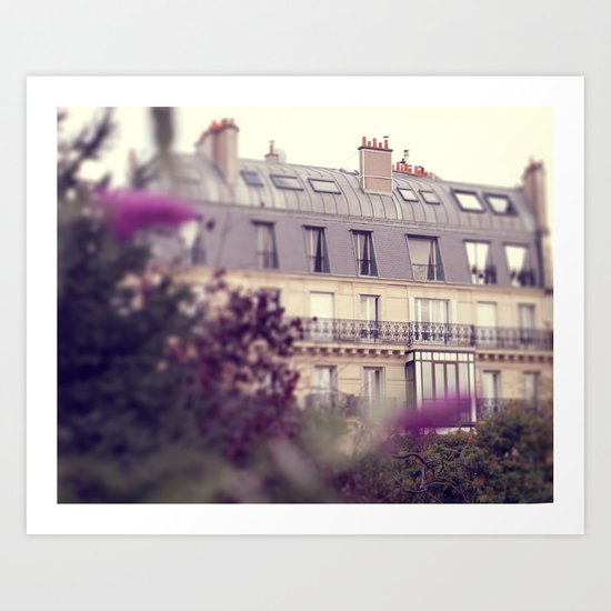 paris charm Art Print