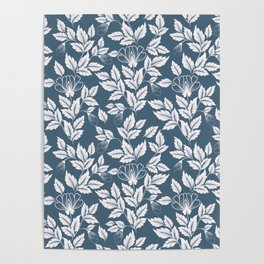 Leaves Pattern 7 Poster