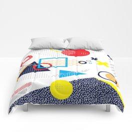 Memphis Pattern Comforters