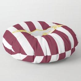 Mulled Wine Antique Floor Pillow