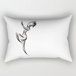 Dotted Dancer Two Rectangular Pillow