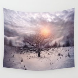 Lone Tree Love II Wall Tapestry
