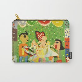 The cup of Rosalia | Full of fairy tales | Painting by Elisavet Carry-All Pouch