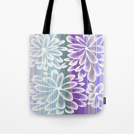 Fancy Floral Tote Bag