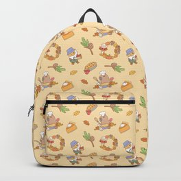 Bubu the Guinea pig, Fall and Pie Backpack