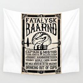Fatalysk Baarnd Concert Poster Wall Tapestry