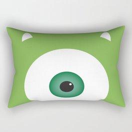 PIXAR CHARACTER POSTER - Mike Wazowski 2 - Monsters, Inc. Rectangular Pillow