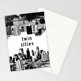 Twin Cities Minneapolis and Saint Paul Minnesota Stationery Cards