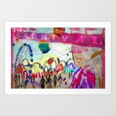 Carnival Art Print