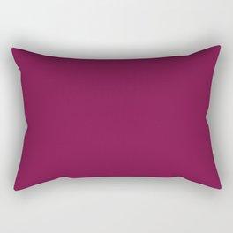 Wine - Tinta Unica Rectangular Pillow